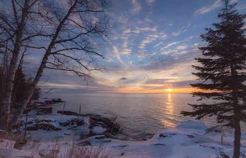 Good morning from Tofte by Thomas Spence.