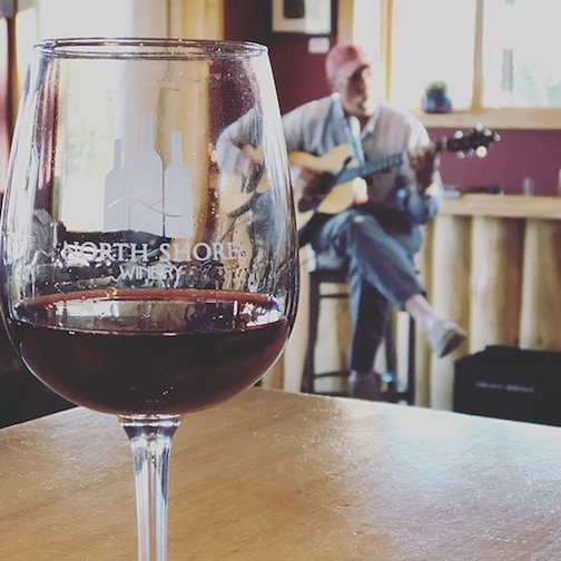 Gordon Thorne is live on the North Shore Winery's Facebook page at 6 p.m. Thursday.