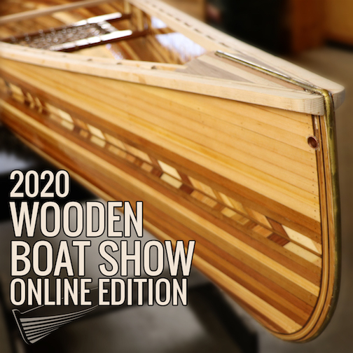 North House Folk School's Wooden Boat Show will be held online this year.
