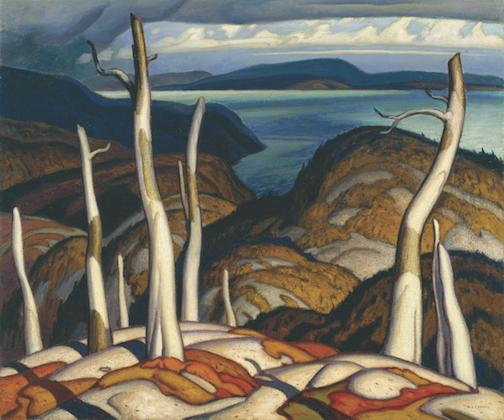 """North Shore: 1929"" by A. J. Casson, a member of the Group of Seven."