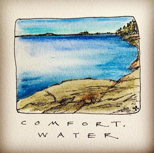 Comfort. Water. by Betsy Bowen.