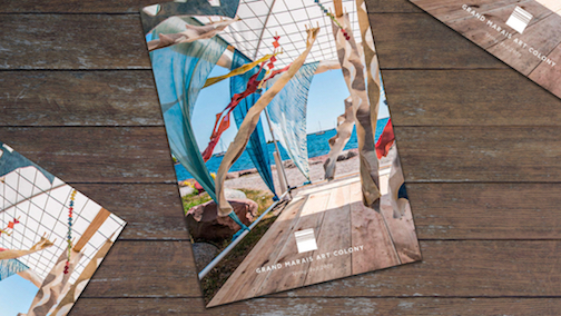 The Grand Marais Art Colony's summer catalog is