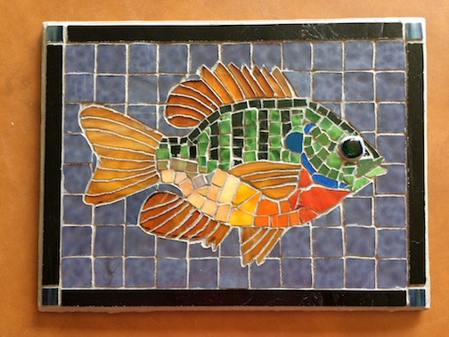 Sunfish Mosaic by Jeff Morgan.
