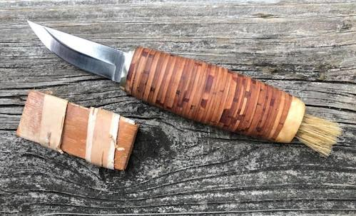 Mushrooming knife by John Jacobson.