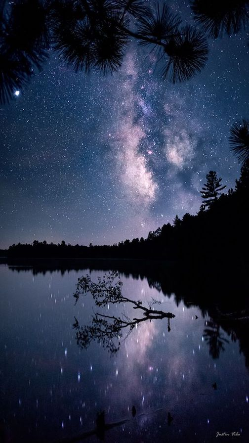 When conditions are favorable, it's hard to pass up a night out under the stars by Justin Vrba.