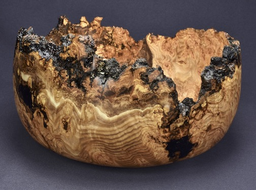 Hovland aspen birch bowl by Lou Pignolet.