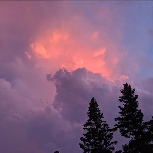 A celestial view by Ilena Hansel.
