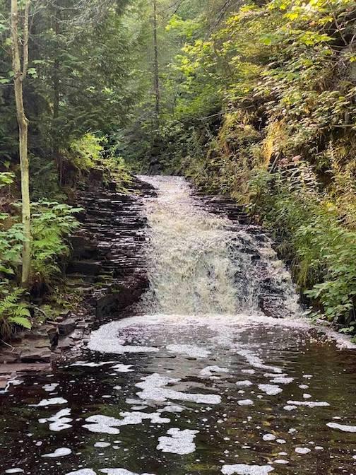 Waterfall by Bruce Block.