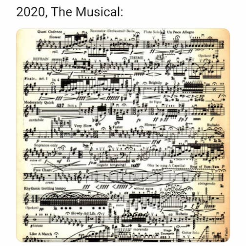 Covid, the Musical. Posted on Classic FM 202.