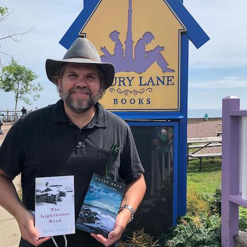 "Author Pete Geye visited Drury Lane Books last week. His latest, ""Northernmost"" is now available at the bookstore."