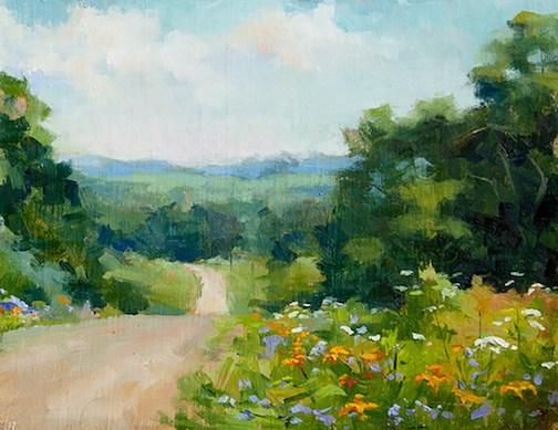 Plein Air painter Kathie Wheeler will teach a class at the Grand Marais Art Colony in September.
