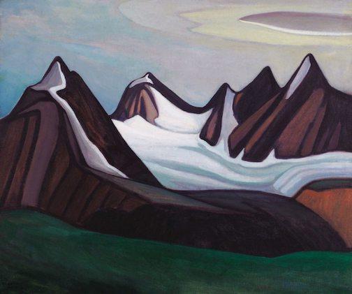 """Mountain and Glacier"" by Lawren Harris."