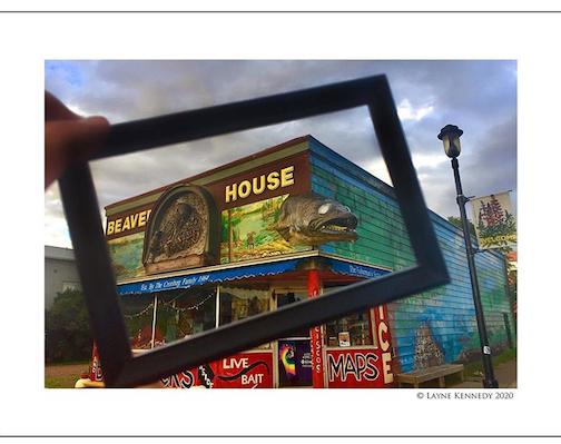 Layne Kennedy's The Beaver House Bait Shop.