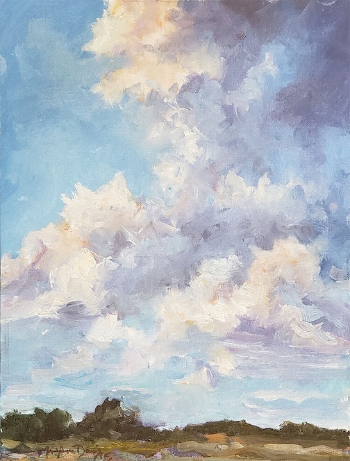Clouds of Summer by Mary Ann Davis.
