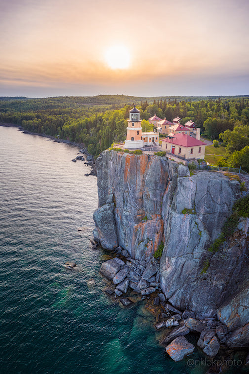 Split Rock Lighthouse's 100th anniversary by Nathan Klok.