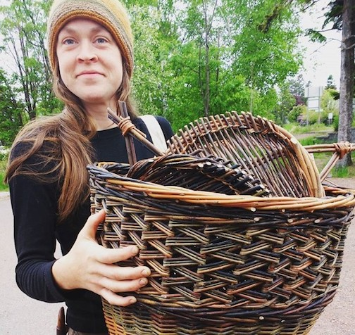 Emily Derke will host a Lunch & Learn presentation on willow basketry on the North House Folk School's Facebook page at noon on Thursday. She will also be demonstrating p. North House from 10 a.m. to 4 p.m. Thursday through Saturday on campus.