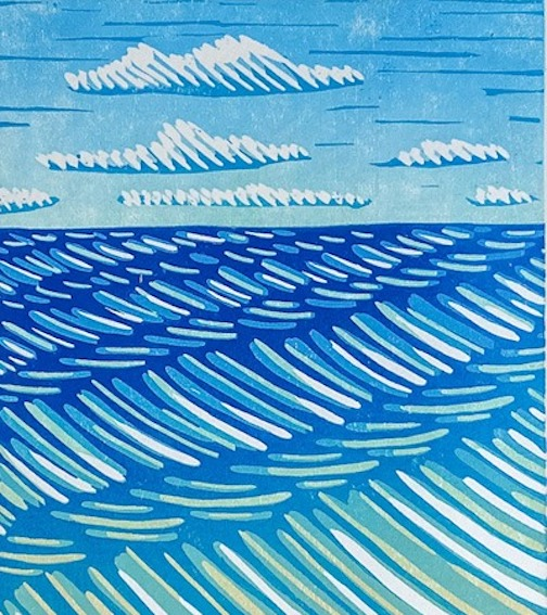 Printmaker Nan Onkka is one of the featured guest artists during the tour.