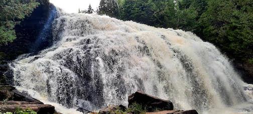 Upper Falls, Grand Portage by Cathy Quinn.