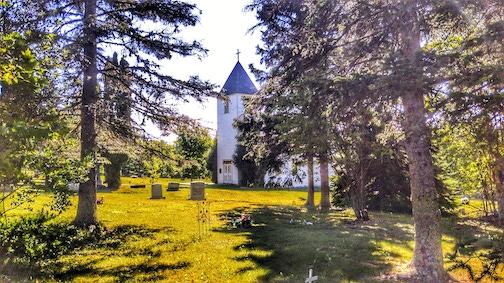 Maple Hill Church by Don Davison.