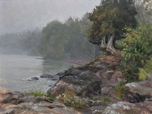 Foggy Morning by Scott Lloyd Anderson.