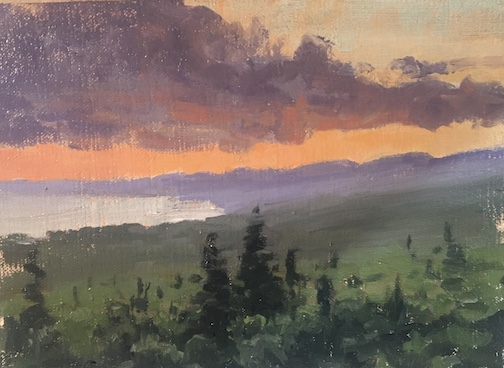 After a Storm, oil, by Neil Sherman.