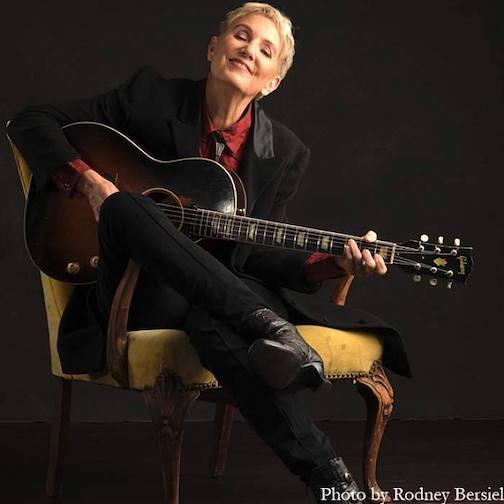 Singer/songwriter Eliza Gilkyson will perform at Unplugged this year.