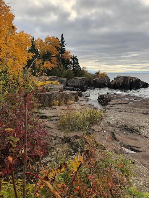 North Shore in Fall, courtesy of the Grand Marais Art Colony.