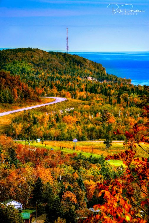 Highway to Heaven: Hwy 61 and Lake Superior by Bill Donovan.,