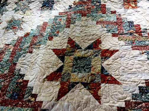 Carol Harris has been making quilts for Care Partners of Cook County fundraisers.
