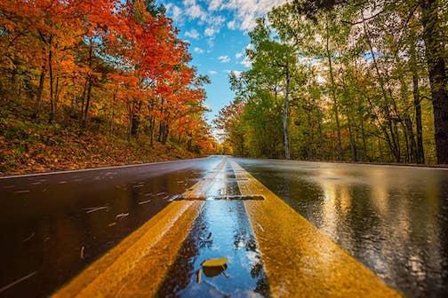 Road trip by Christian Dalbec.