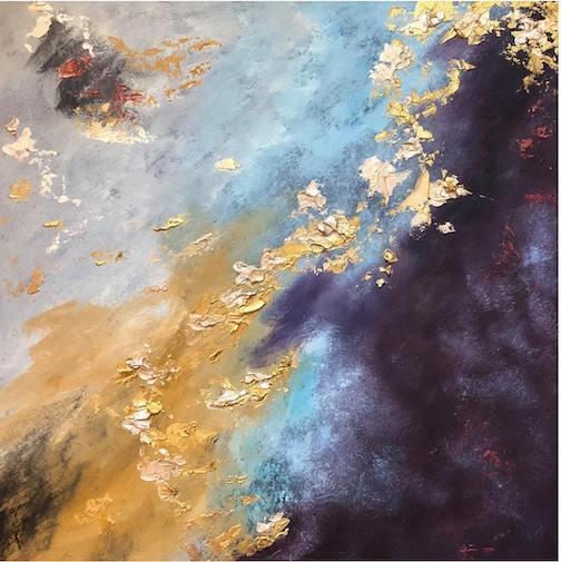 Cosmic Yin and Yang by Kathy Fox Weinberg.
