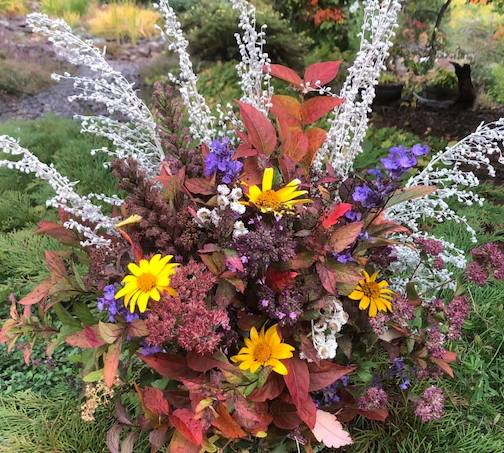 Arranged by autumn by Maryl Skinner.