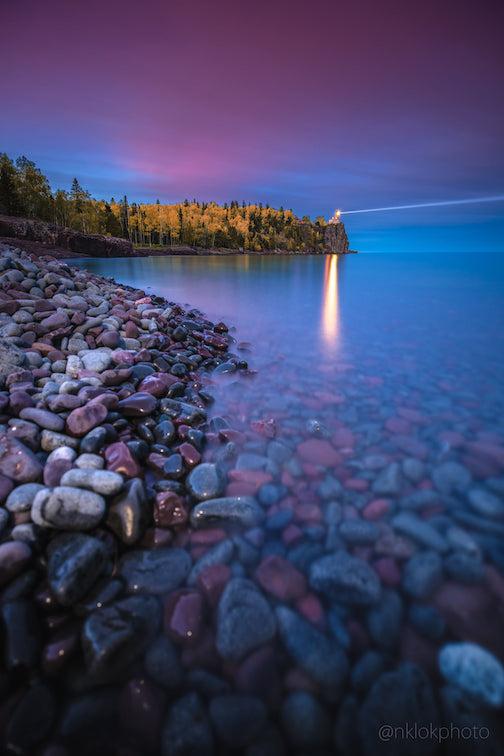 Split Rock Lighthouse by Nathan Klok.