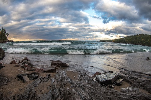Lake Superior by Tim Beebe.