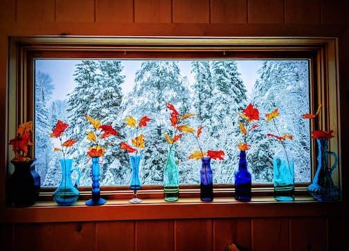 Indoor mood and outdoor mood by Tina Hegg Raway.