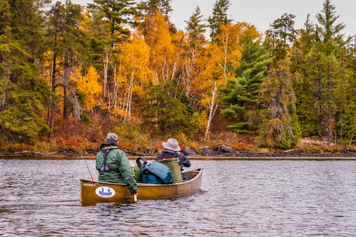 Harvey Sobie and Chris O'Brien were some of the paddlers that participated in the Circle Tour. Photo by Mark Morgen.