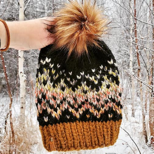 Jamie Rex's North Shore Knits, featuring hats and other knit items, are available at Joy & Co, Clearview General Store and the Mountain Shop on Lutsen Mountains as well as online at her Etsy store.