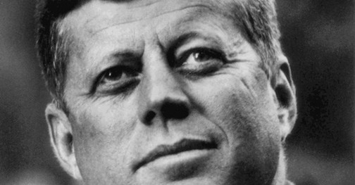 """John Kennedy on art: """"""""We must never forget that art is not a form of propgranda, it is a form of truth."""" Listen to his entire speech here."""