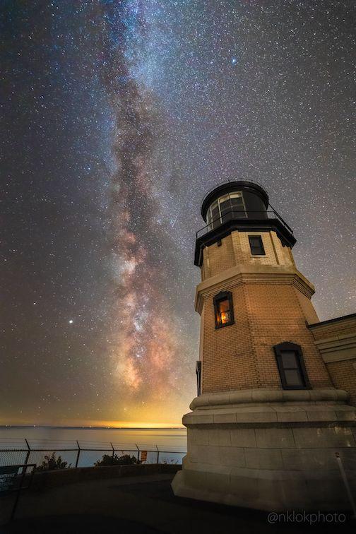 September Milky Way night at Split Rock by Nathan Klok.