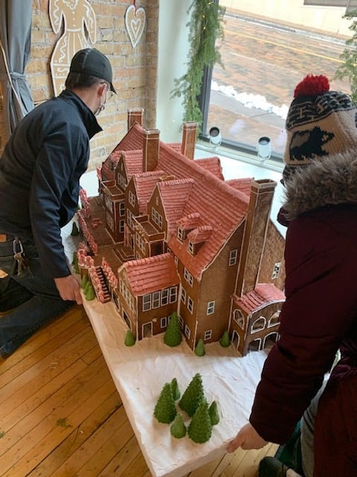 The Nordic Center will display fantastic gingerbread houses in its windows starting on Friday, Nov. 20. They will also be exhibited online here.