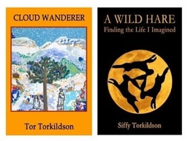 Siffy and Tor Torkildson have just published two books about their adventures in the world. The books should be available in local bookstores soon.