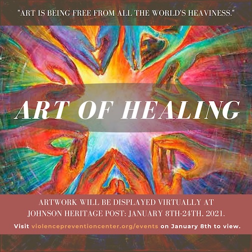 The Art of Healing, a virtual exhibit, opens at the Johnson Heritage Post on Jan. 8.
