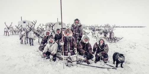 The Dolgon People, Siberia, by Jimmy Nelson.