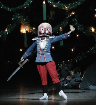 "The New York City Ballet will present ""The Nutcracker"" through Jan. 3."