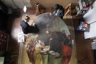 Restoring one of the lost works of female Renaissance artists.