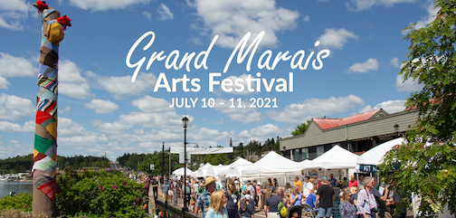 The Grand Marais Arts Festival is on this summer, and is scheduled to be held in downtown Grand Marais July 10-11.