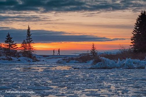 Ice shards by Paul Sundberg.