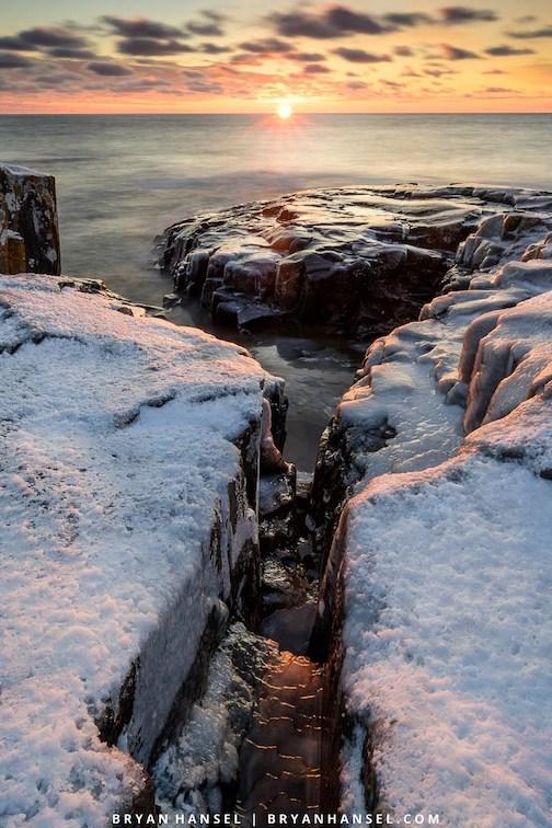 First sunrise, 2020 by Bryan Hansel.