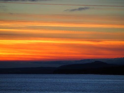 Sky at Sunset by Jennifer Trowbridge.