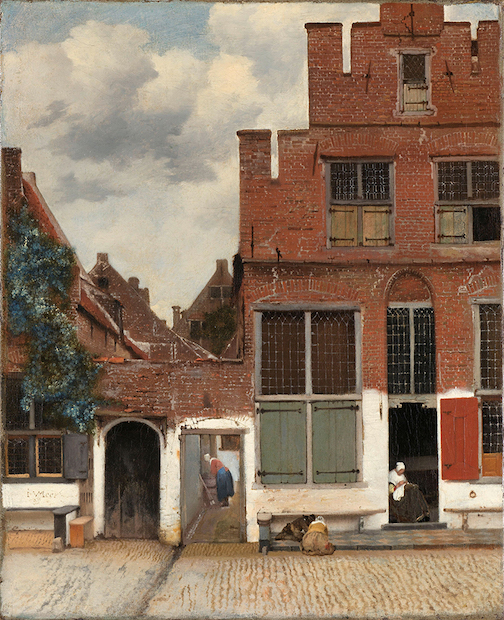 Delft, painting by Vermeer, is one of the paintings that the Rijksmuseum Museum has put online for viewers to see.